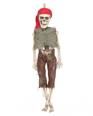 Hängefigur Pirat Skelett 40 cm