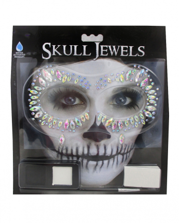Skull Jewels Make-Up Kit