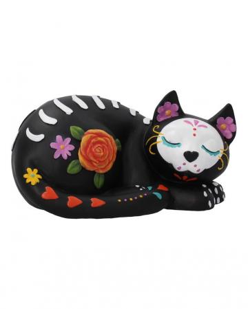 Sleepy Sugar Skull Cat 22cm