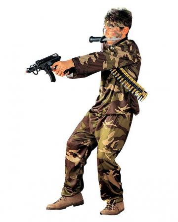 Soldat Uniform Kostüm für Kinder
