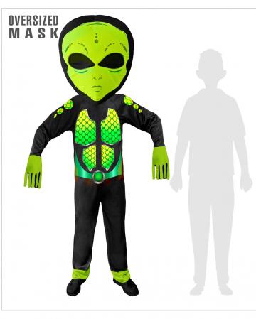 SciFi Alien Overall Kinderkostüm