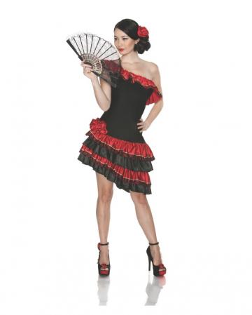 Spanierin Kostüm mit Accessoires