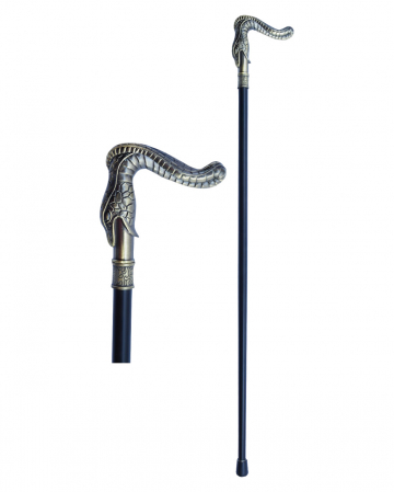 Walking Stick With Snake As Handle