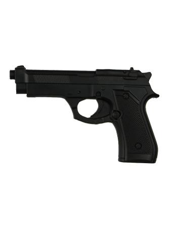 Hartschaumstoff Glock Spielzeugwaffe als Kostümzubehör