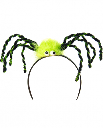Spider Hairy Green