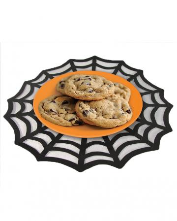 Spinnennetz Halloween Untersetzer