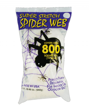 Halloween Spinnennetz 240g