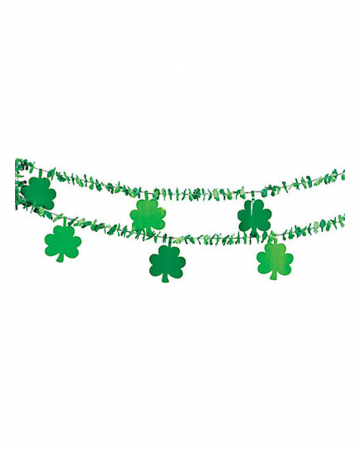 St. Patrick's Day clover garland