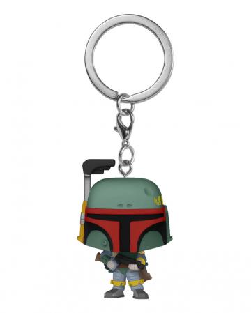 Star Wars Boba Fett Schlüsselanhänger Funko Pocket POP!