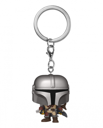 Star Wars The Mandalorian Keychain Funko Pocket POP!