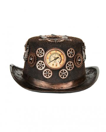 Steampunk Kostüm Hut mit Zahnrädern