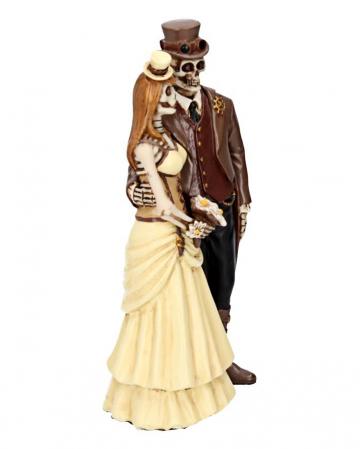 Steampunk Skelett Brautpaar