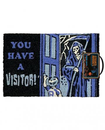 Steven Rhodes You have a Visitor Fußmatte
