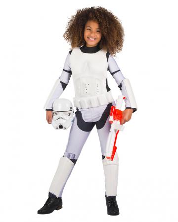 Stormtrooper Mädchenkostüm