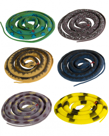 Stretch Snake 146cm Various Colors 1 Pc.
