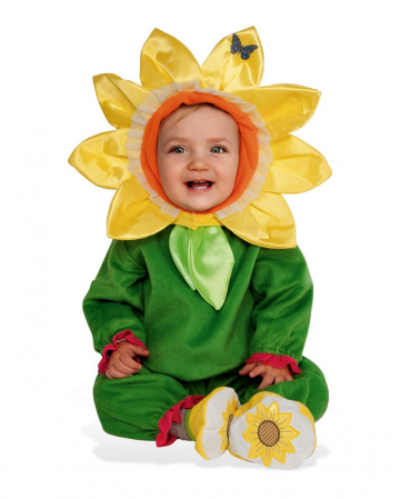 Sweet Sunflower Costume For Children