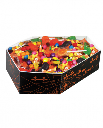 Halloween Trick or Treat Schale im Sarg Design