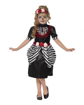 Tag der Toten Kleid für Mädchen