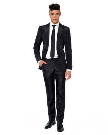 Suitmeister Solid Black Suit