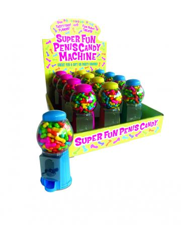 Super Fun Penis Süßigkeiten Automat