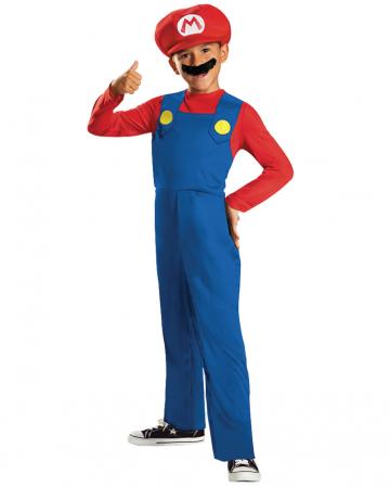 Super Mario Costume For Children