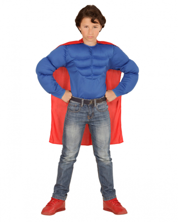 Super Muscle Hero Shirt For Kids