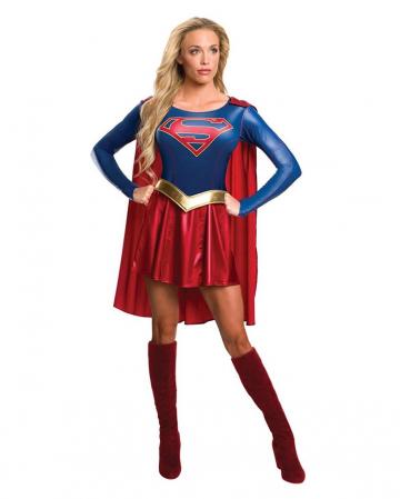 Supergirl Frauenkostüm mit Cape