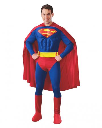 Superman Erwachsenen Muskelkostüm