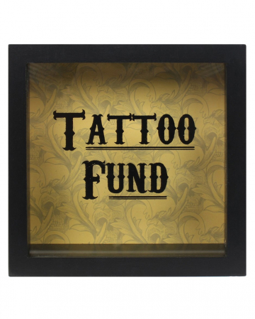 Spardose für Tattoos