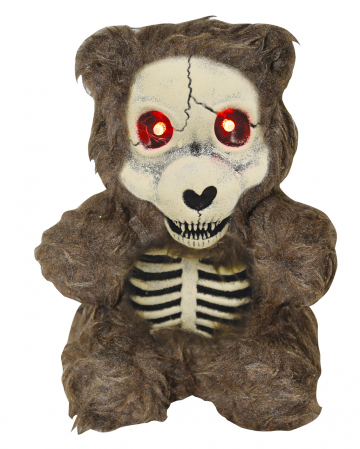 Teddy Bear With Skeleton Body