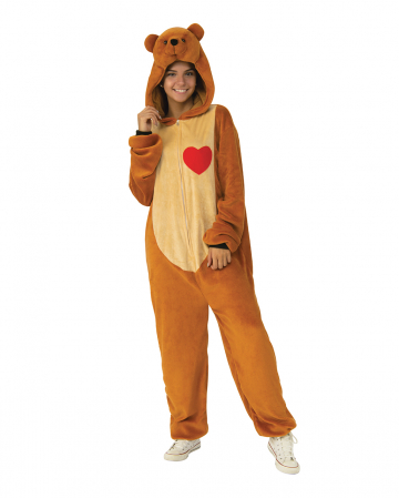 Teddy Bears Plush Jumpsuit For Adults