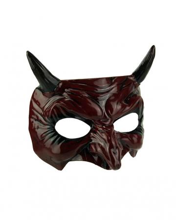 Devilish Goblin Mask With Horns