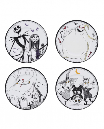 The Nightmare Before Christmas Plate Set