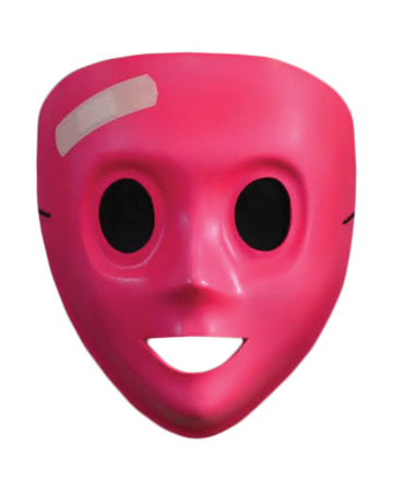 The Purge Maske mit Pflaster