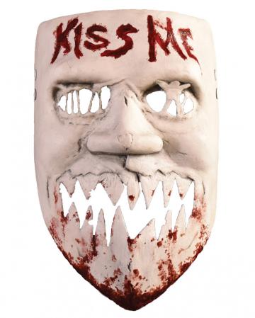The Purge Kiss Me Mask