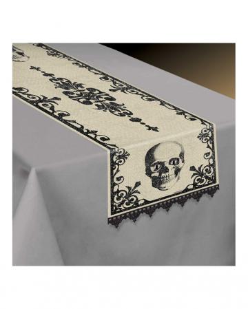 Table Runner Skull Boneyard 35x180cm