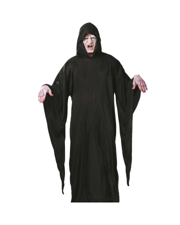 Gravedigger Robe With Hood And Long Sleeves