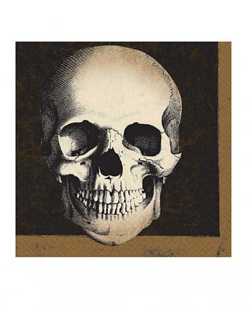 Skull Boneyard Napkins 20 pcs.