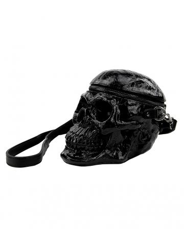 Skull Handbag Vinyl