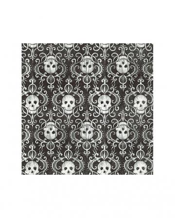 Skull Pattern Napkins 20 Pieces