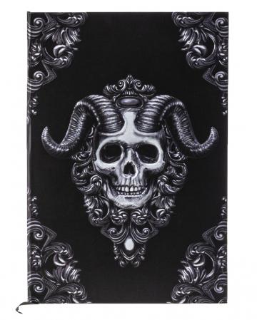 Dämonen Schädel Notizbuch