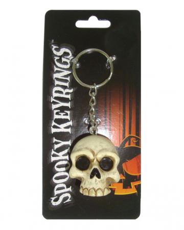 Totenschädel Schlüsselanhänger 4cm