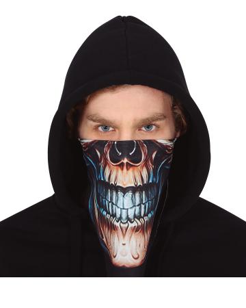Skull Scarf With Velcro Fastener