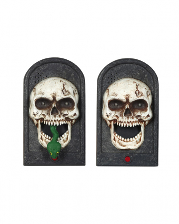 Skull Doorbell With Light And Music