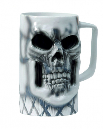 Skull Beer Jug 15 Cm