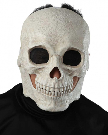 Skull Mask With Movable Jaw