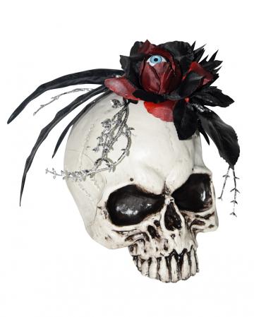 Skull With Flower & Eyeball
