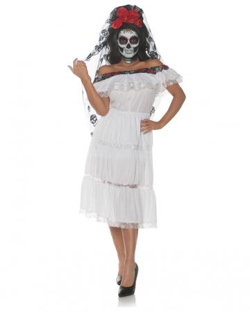 Totenkopf Senorita Kostüm