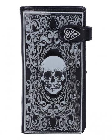 Totenkopf Tarot Geldbörse 18,5cm