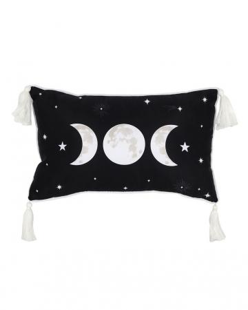 Dreifach Mond Dekokissen 25 x 40cm